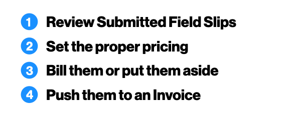 Ignition Software From Field Slips to Invoice new